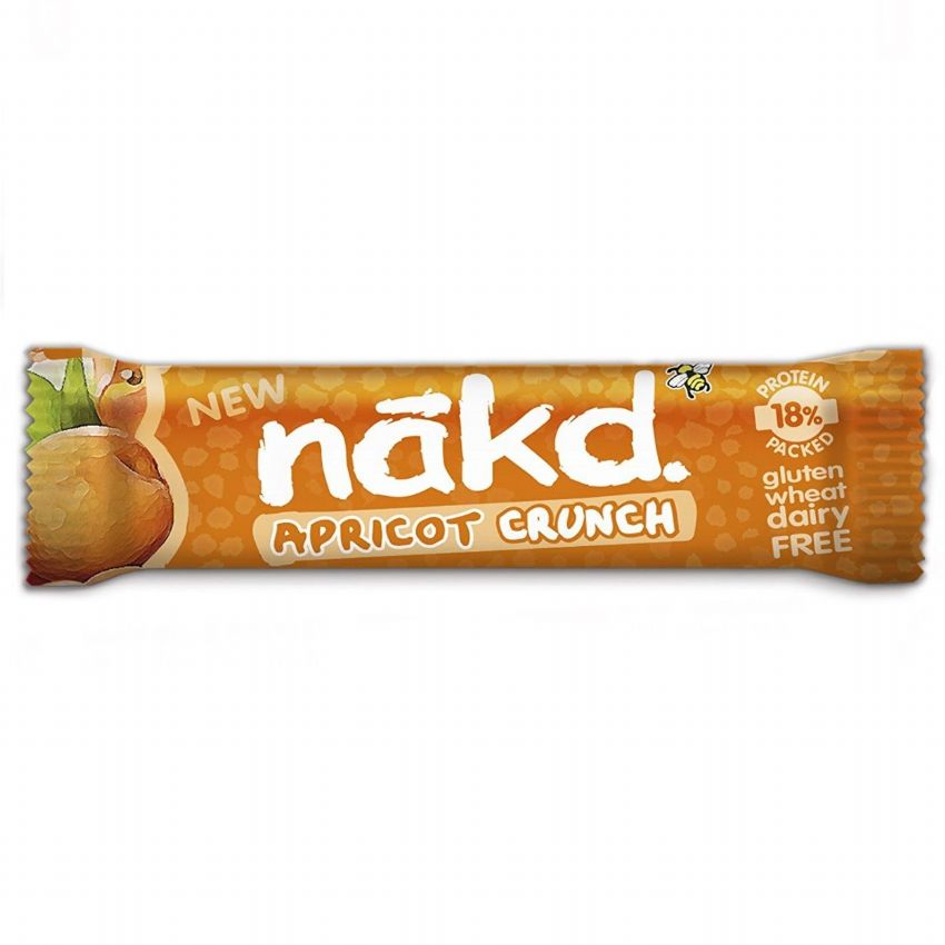 Apricot Crunch - Nakd Raw Fruit & Nuts Bars 30g